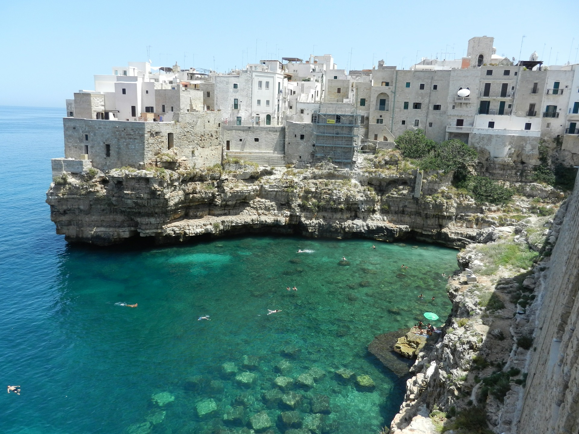 Polignano amare, Apulia, Rozkoszuj się życiem wsamym sercu Apulii!
