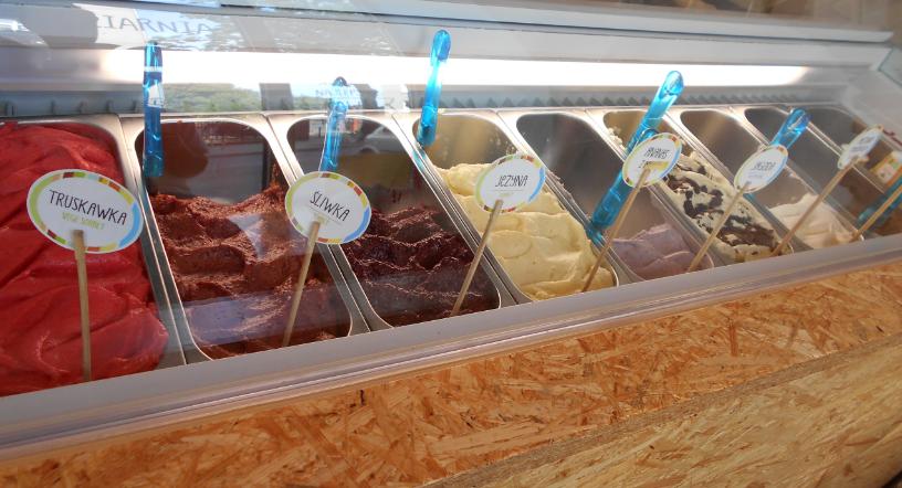 Amore bio gelato prawdziwe włoskie lody wPoznaniu