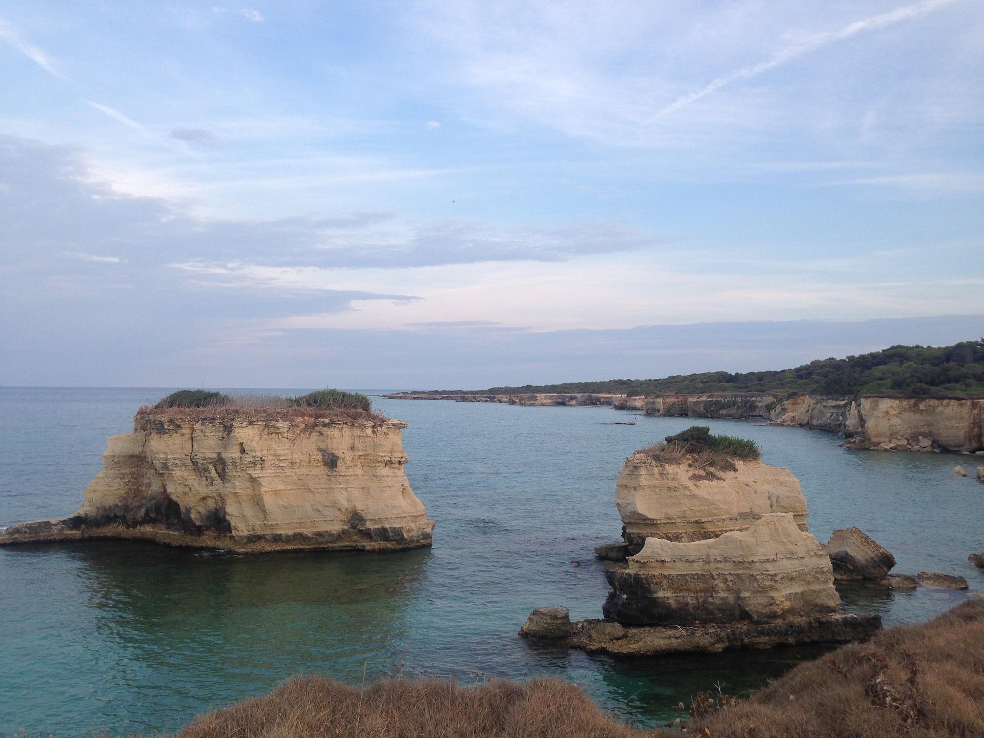 wybrzeze Salento, Salento słońce, morze iwiatr czyli rajski zakątek naziemi