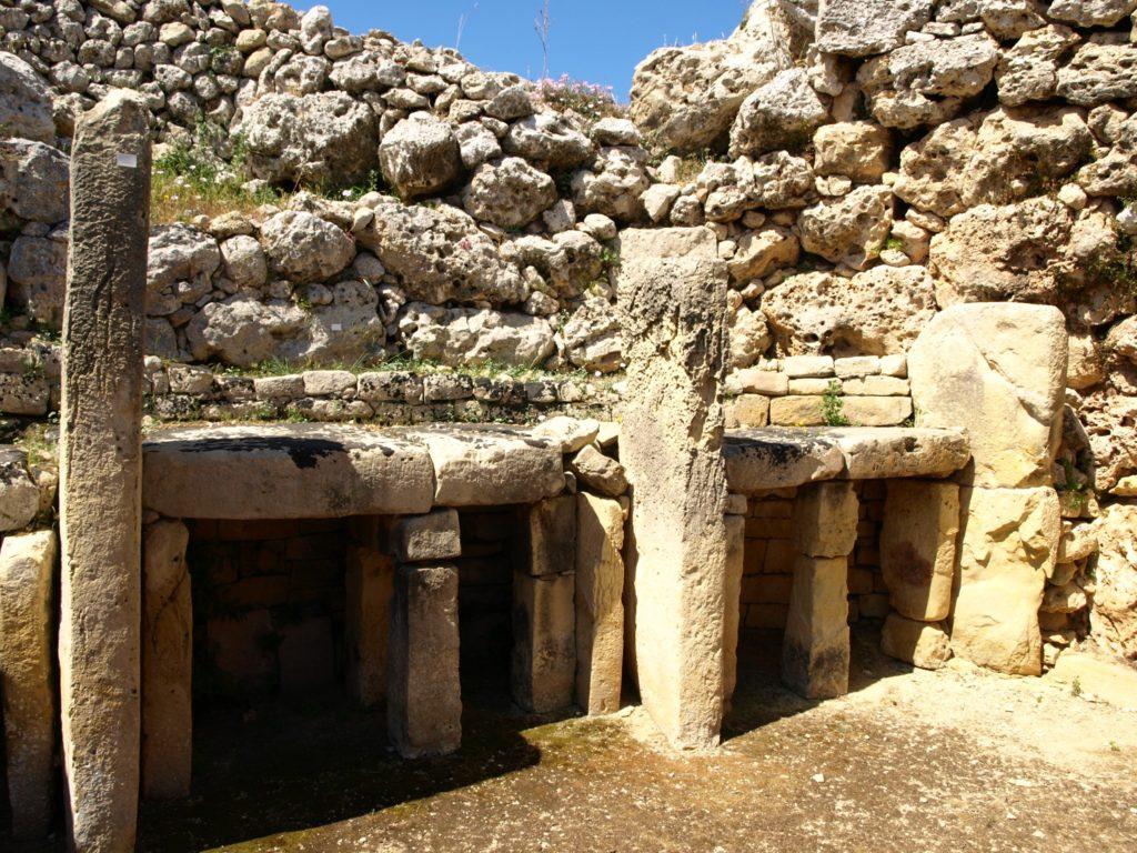 Ggantija temples, Gozo, Malta iGozo praktyczny przewodnik