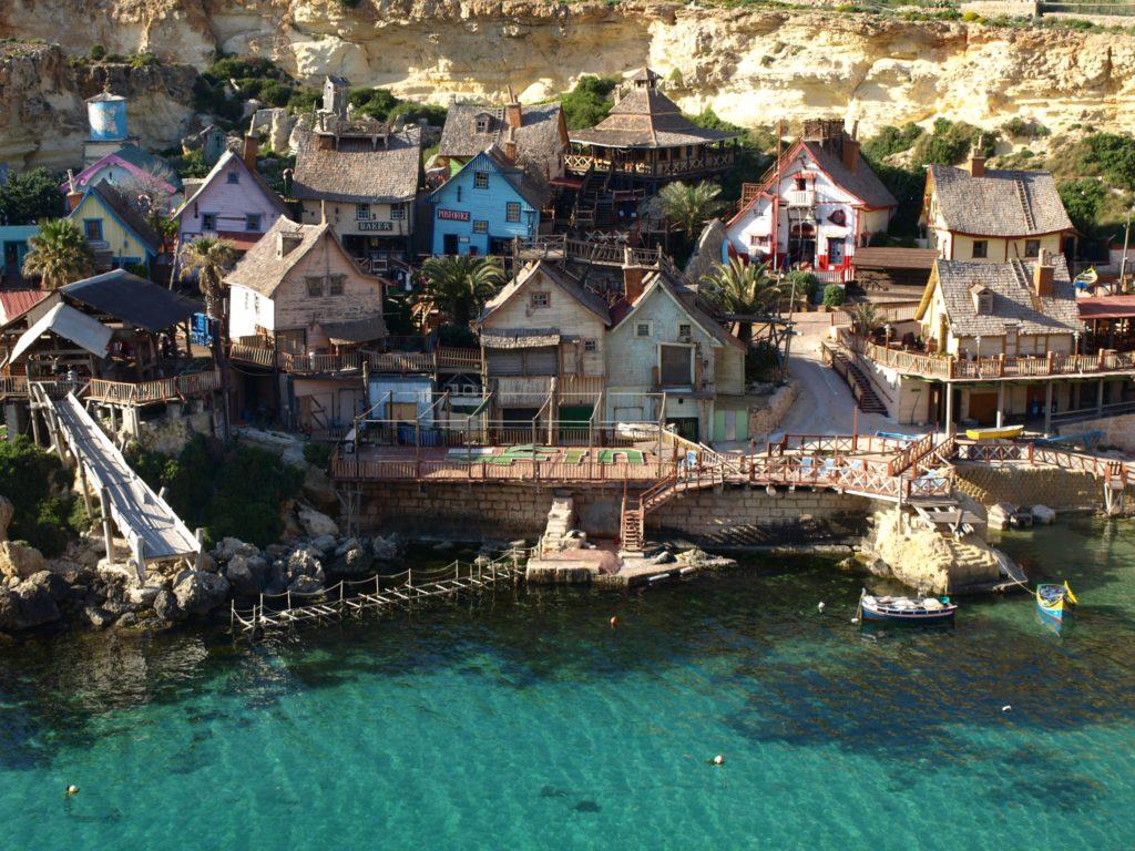 Popeye Village, Malta iGozo praktyczny przewodnik