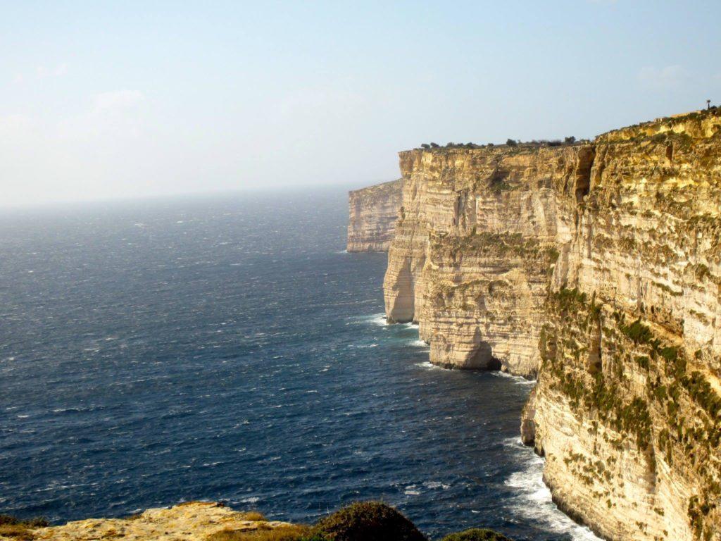Ta cenc cliffs Gozo, Malta iGozo praktyczny przewodnik