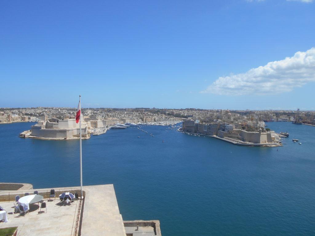 Valletta Malta Upper Barrakka Gardens, Malta iGozo praktyczny przewodnik